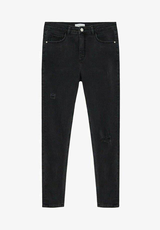 LAKE - Jean slim - black denim