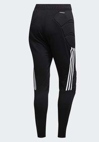 adidas Performance - TIERRO GOALKEEPER TRACKSUIT BOTTOMS - Verryttelyhousut - black - 10