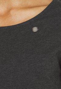 Ragwear - TAMILA  - Žerzejové šaty - dark grey - 5
