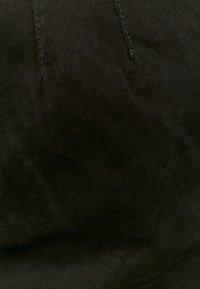 TALLY WEiJL - HIGH WAIST  - Pantaloni cargo - black - 4