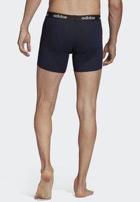 adidas Performance - BRIEFS 3 PAIRS - Pants - blue - 1