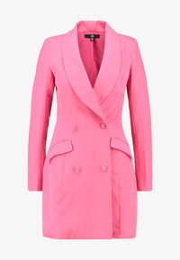 Missguided - BLAZER DRESS - Pouzdrové šaty - pink - 3