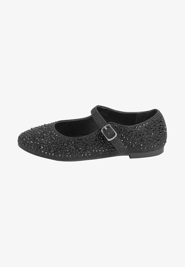 MARY JANE  - Ballerina's met enkelbandjes - black