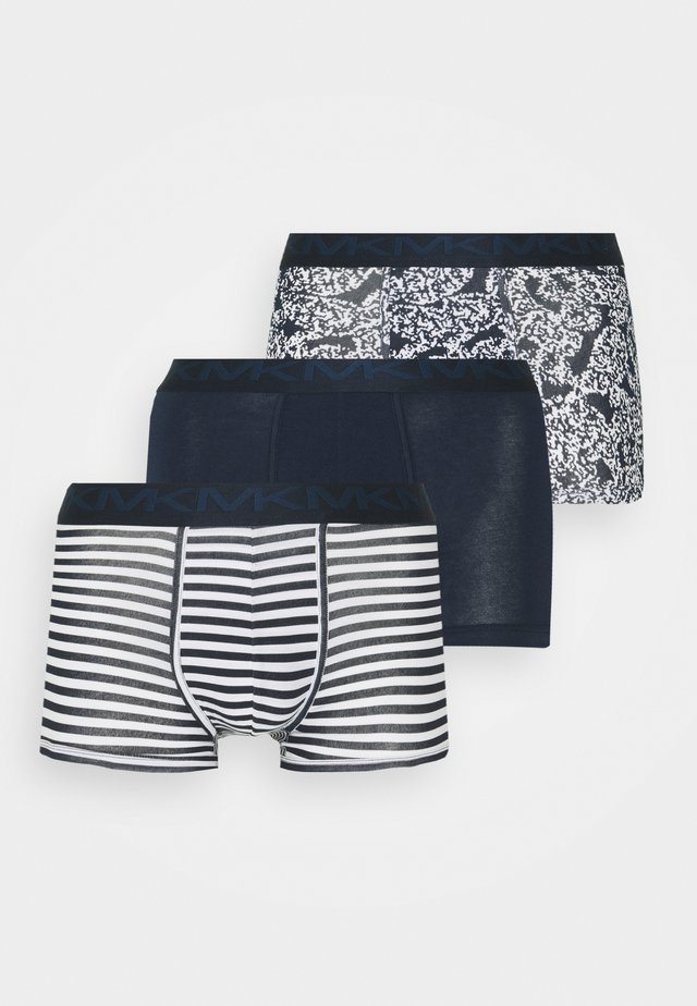 FASHION TRUNK 3 PACK - Panties - midnight