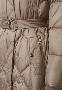 Lauren Ralph Lauren - MATTE FINISH COZY BELTED COAT - Down coat - taupe - 2