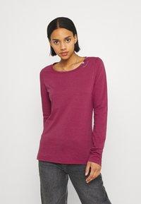 Ragwear - FLORAH LONG  - Long sleeved top - raspberry - 0