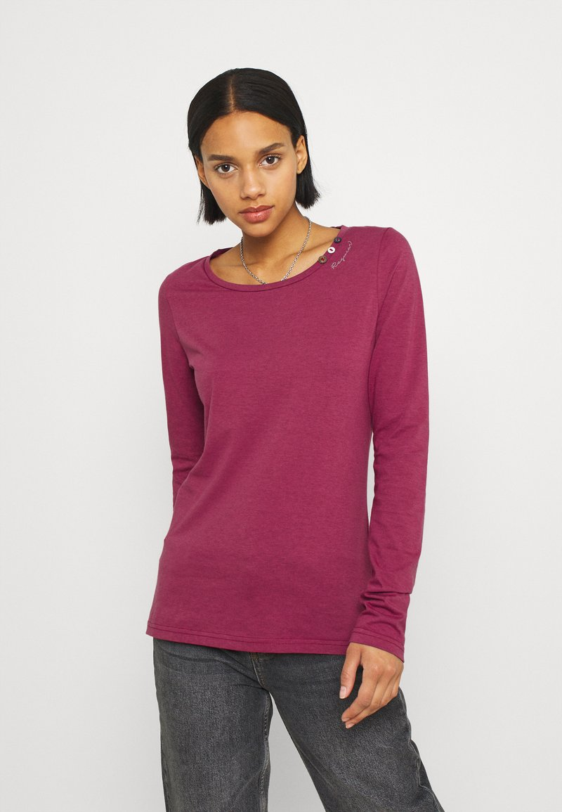 Ragwear - FLORAH LONG  - Long sleeved top - raspberry
