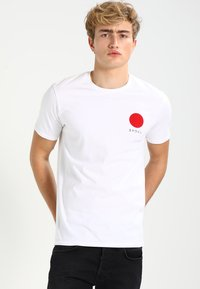 Edwin - JAPANESE SUN UNIAWY - Print T-shirt - white - 0