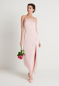 NA-KD - HIGH SLIT DRESS - Maxi šaty - dusty pink - 1