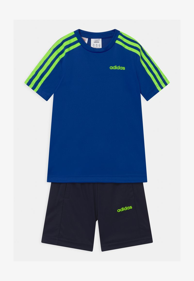 adidas Performance - SET UNISEX - Korte broeken - royal blue/signal green