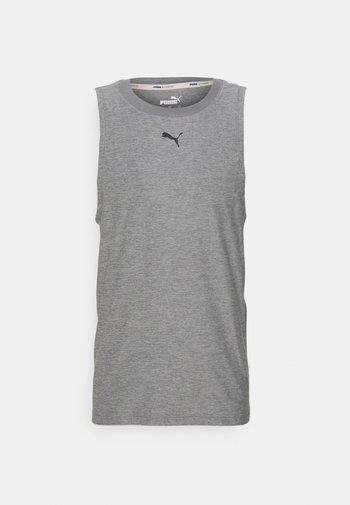 MENS STUDIO TANK - Sports shirt - medium gray heather