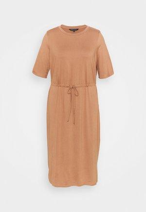 DRESS - Day dress - mocha