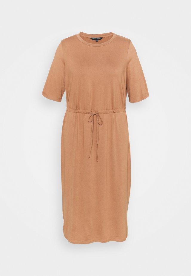 DRESS - Sukienka letnia - mocha