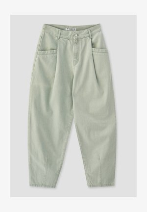 Trousers - light green