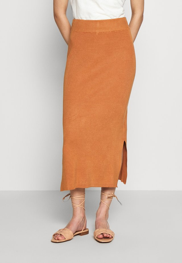CELESTINA SKIRT - Pencil skirt - meerkat
