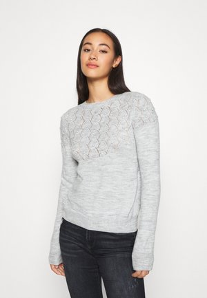 ONLKIRA - Jumper - light grey melange