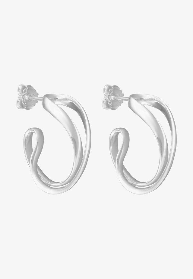 INFINITY  - Earrings - silver