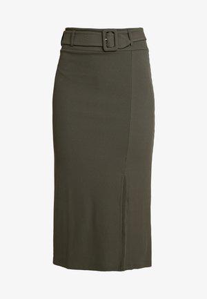 ARIANNA - Pencil skirt - khaki