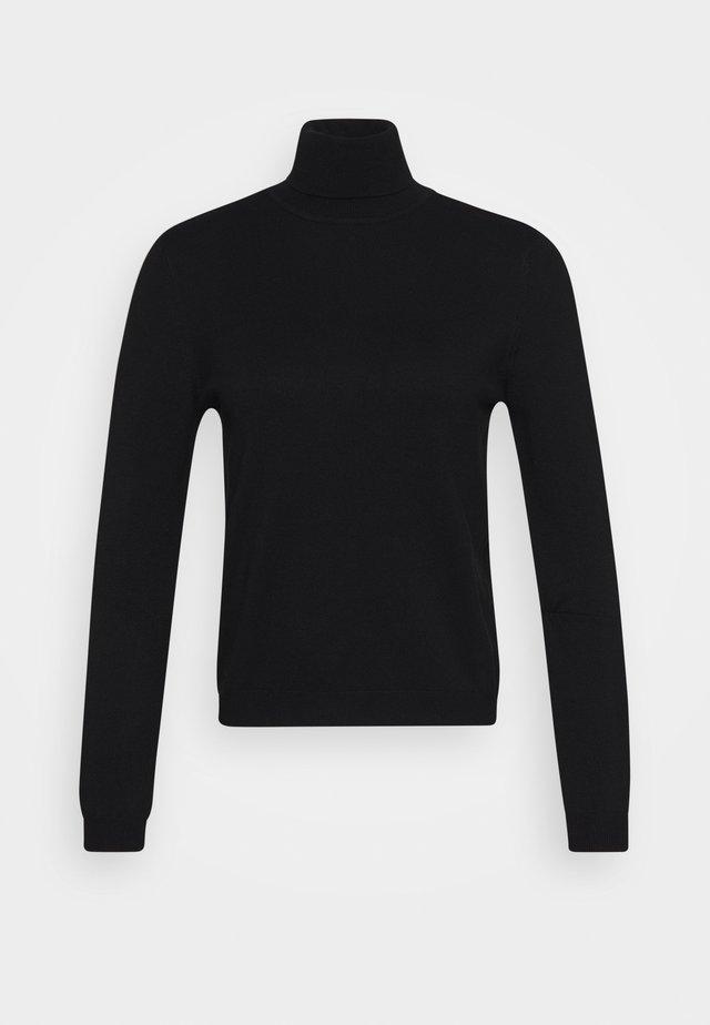 PCESERA ROLLNECK - Pullover - black
