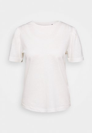 CARINA - Basic T-shirt - white fog