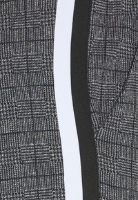 CLOSURE London - PANELLED CHECKED TROUSER - Pantalones deportivos - charcoal - 2