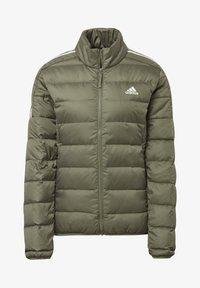 adidas Performance - ESSENTIALS PRIMEGREEN OUTDOOR DOWN - Down jacket - green - 7