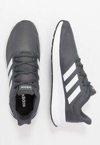 adidas Performance - RUNFALCON - Neutral running shoes - grey six/footwear white/core black - 1