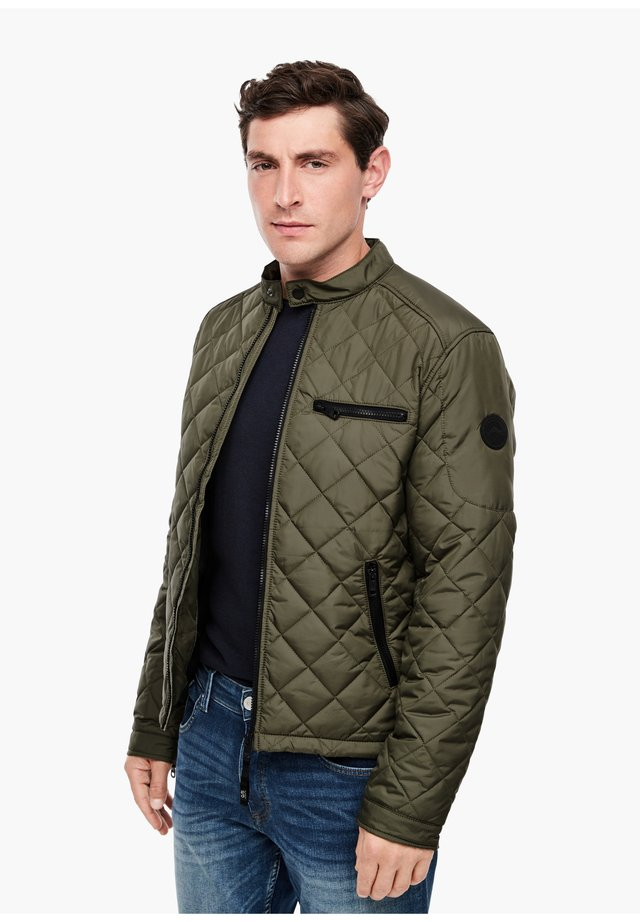 Winter jacket - olive tree