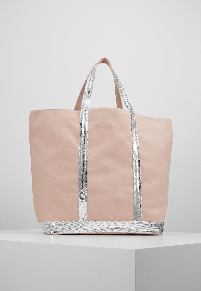 Vanessa Bruno - CABAS MOYEN - Shopping Bag - rose/argent