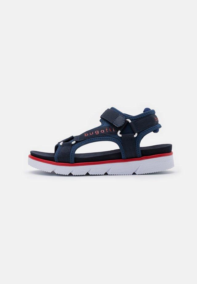 KIKO - Sandalias de senderismo - dark blue/red