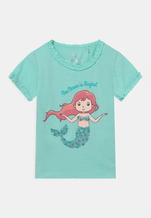 SMALL GIRLS - Print T-shirt - clearwater