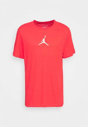 JUMPMAN CREW - T-shirt med print - track red