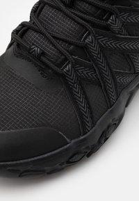 Kappa - SHAWS UNISEX - Sports shoes - black - 5