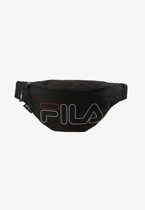 WAIST BAG SLIM - Ledvinka - black