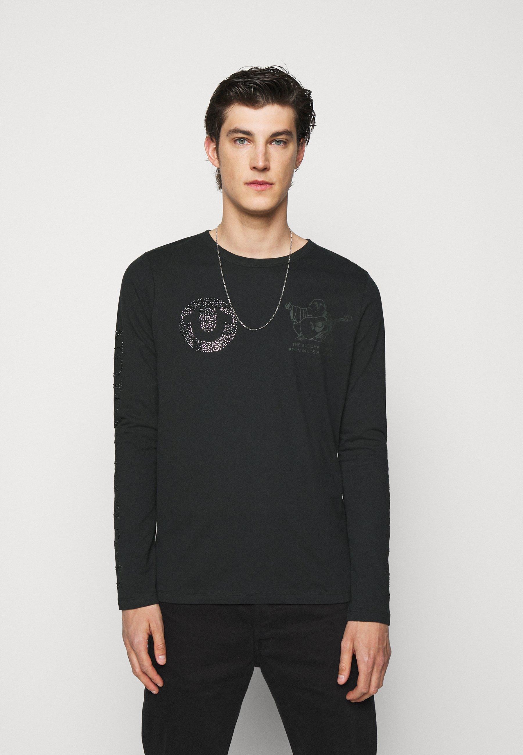 Men LONGSLEEVE LOGO MULTI MIX - Long sleeved top