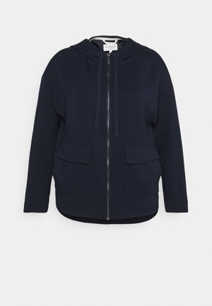BOXY HOODED - Summer jacket - sky captain blue