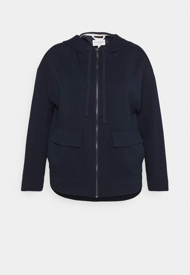 BOXY HOODED - Korte jassen - sky captain blue