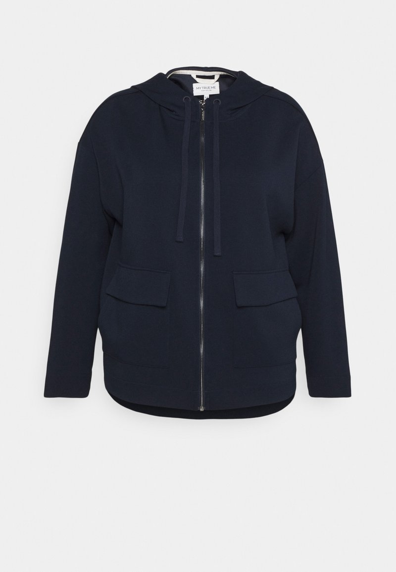 MY TRUE ME TOM TAILOR - BOXY HOODED - Summer jacket - sky captain blue