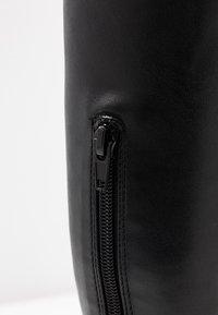 Steve Madden - GOTHAM - Laarzen met hoge hak - black paris - 2