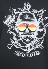 Quiksilver - MADE OF BONES - T-shirt con stampa - black - 5