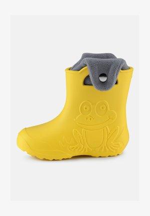 Botas de agua - yellow/grey