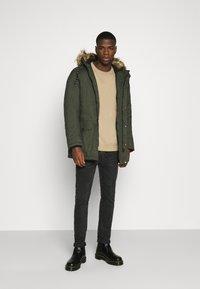 Jack & Jones - Winter coat - dark green melange - 1
