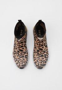 Guess - BAMMIE - Sneaker high - black/brown - 5