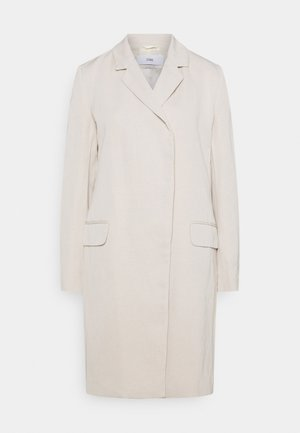 TINA - Classic coat - shiitake