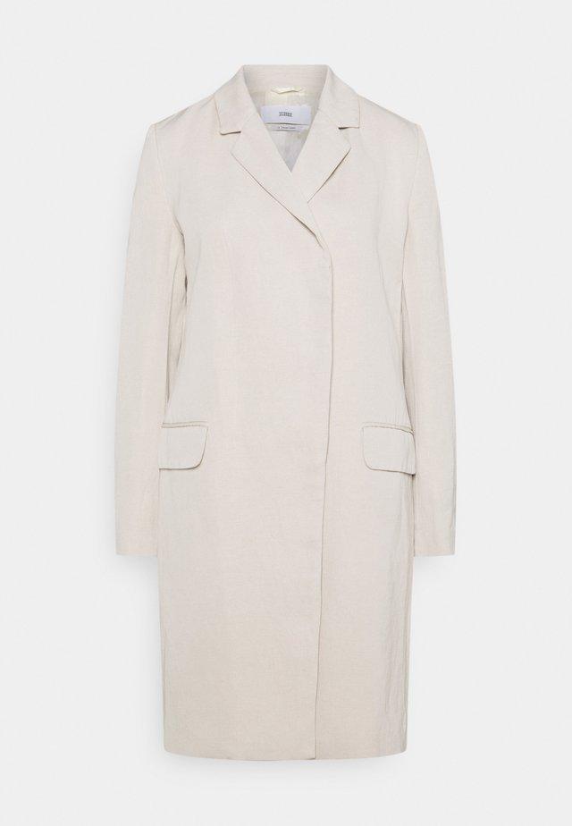 TINA - Klassisk frakke - shiitake