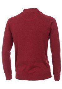 CASAMODA - Zip-up sweatshirt - dark red - 1