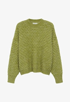 NORMAN - Strickpullover - verde bosque