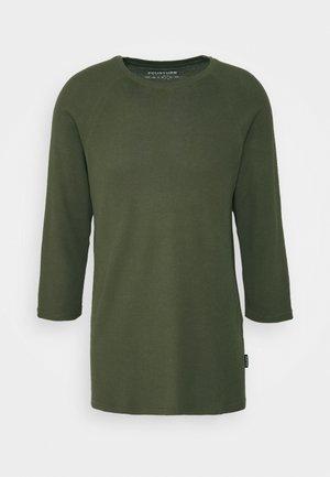 UNISEX - Bluzka z długim rękawem - olive