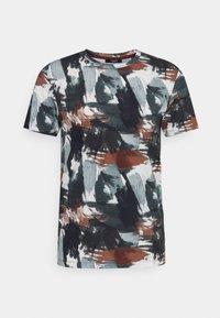 Jack & Jones PREMIUM - JPRBLASTOKE TEE CREW NECK - T-shirts print - smoked - 3