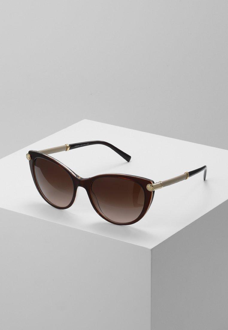Versace - ROCK - Sunglasses - brown/transparent